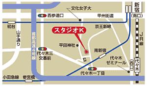 スタジオK 地図