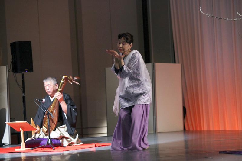 Erika Akoh,Shusui Tanakai 20141024 performance