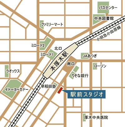 駅前スタジオ 地図
